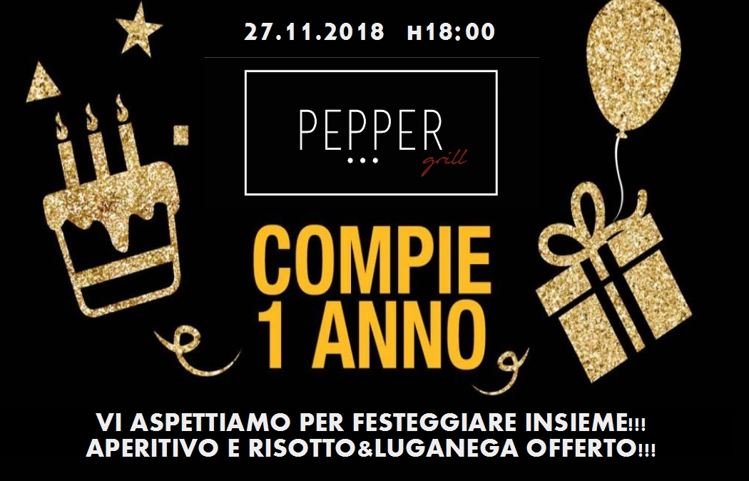 ANNIVERSARIO PEPPER!!!