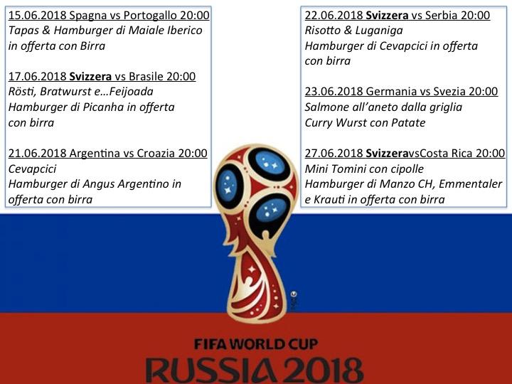 Mondiali di calcio al Pepper!